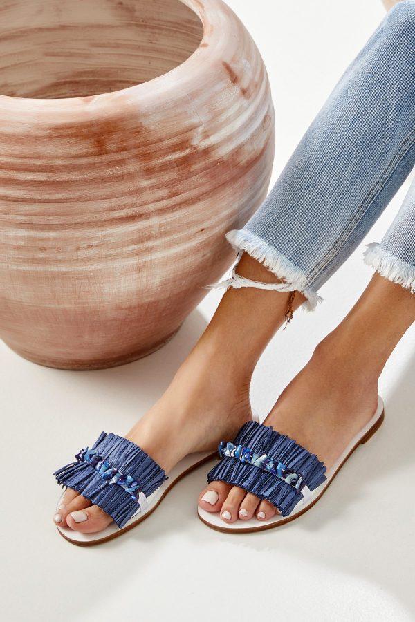 Blue Sandals Women