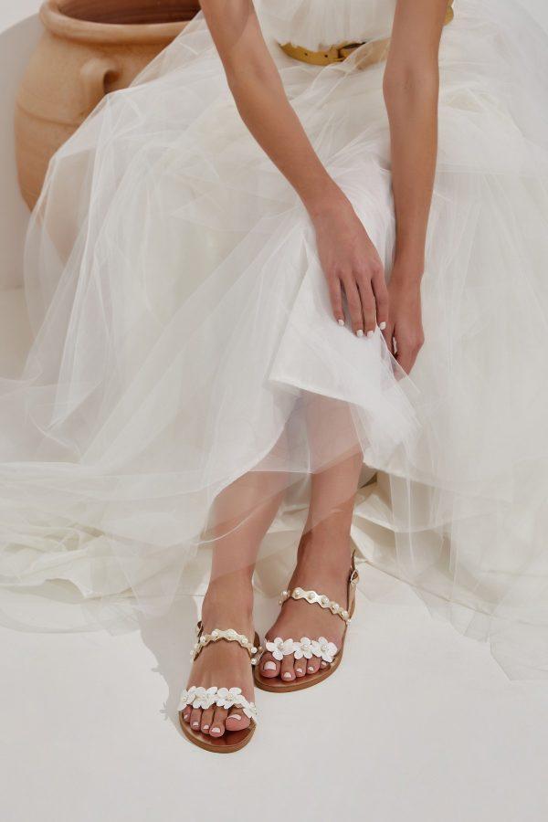 Gold Wedding Flats