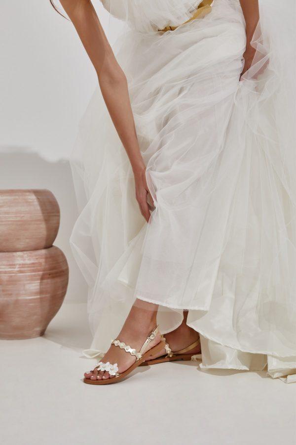 Bridal Gold Sandals