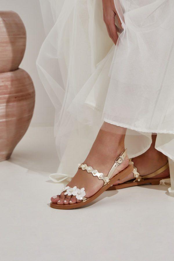 Flat Sandals for Wedding