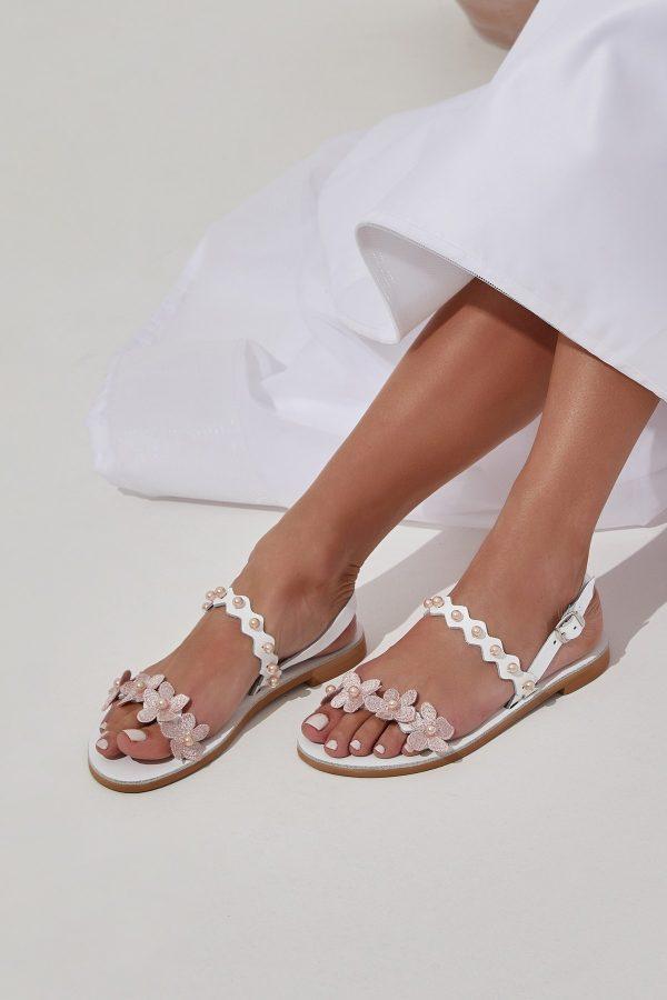 Lace Bridal Sandals