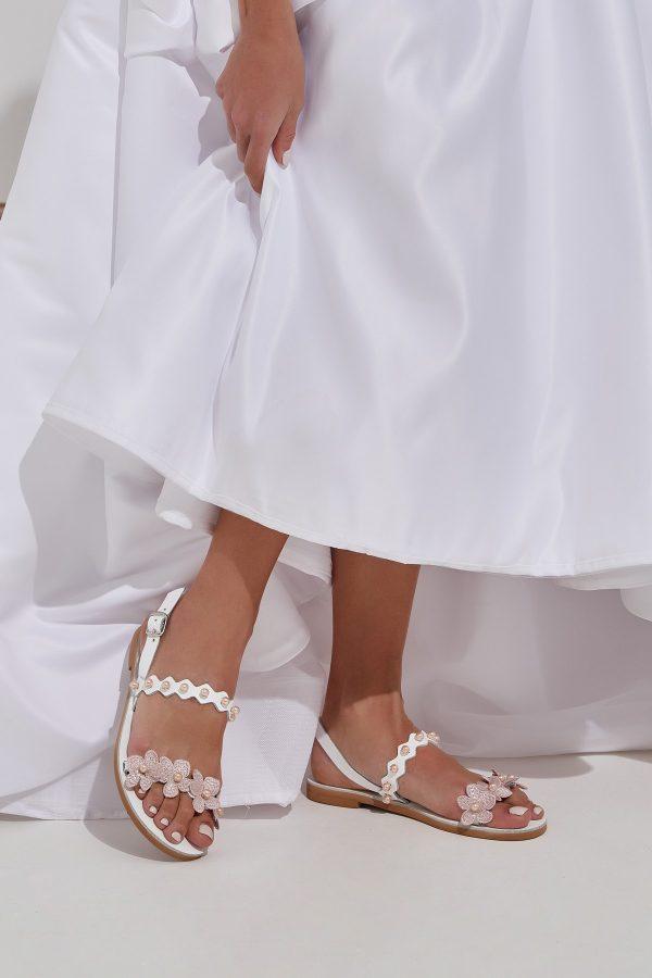 Greek Boho Wedding Flats