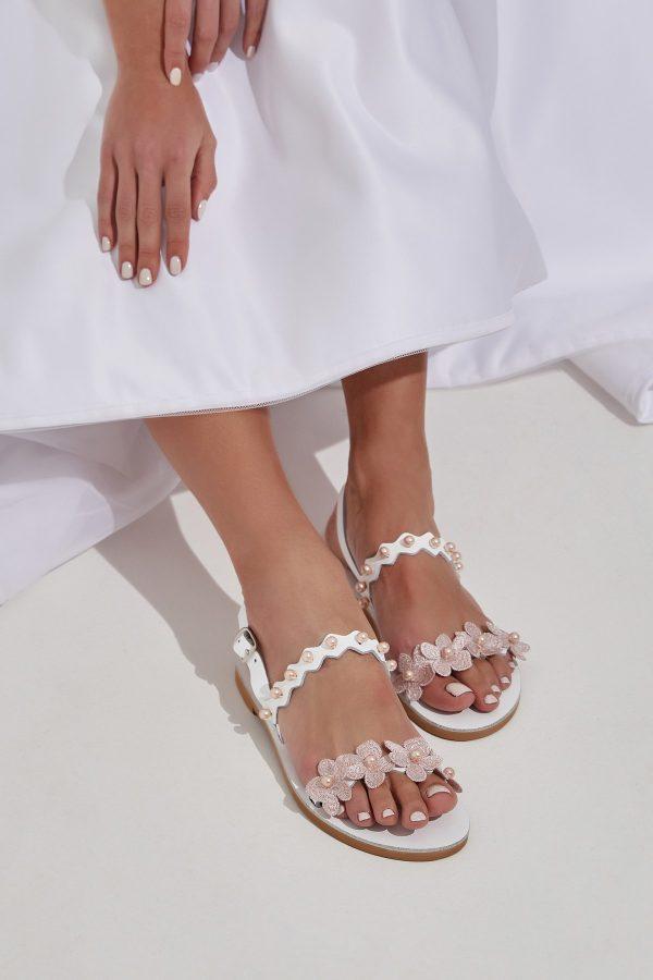 Blush Shoes For Bride