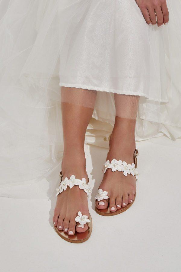 Beach Wedding Flat Shoes