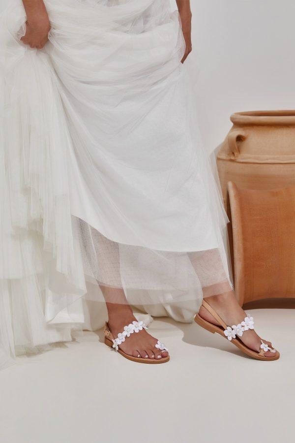 Νυφικά παπούτσια flat