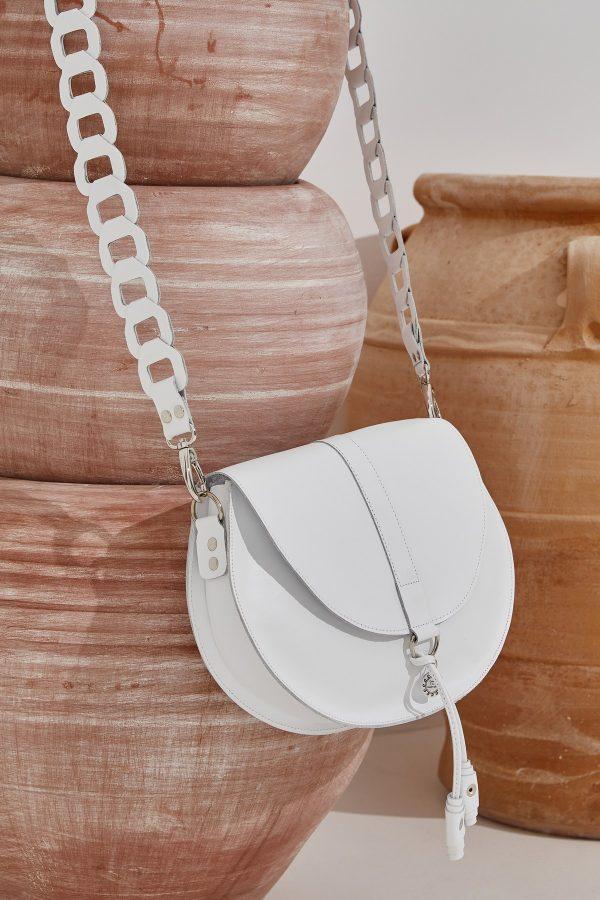 Γυναικεία τσάντα λευκή