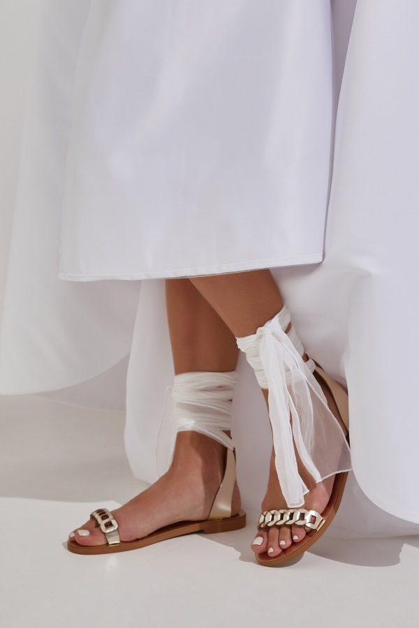 Lace up Wedding Sandals