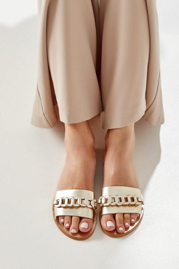 Comfy Sandals Gold