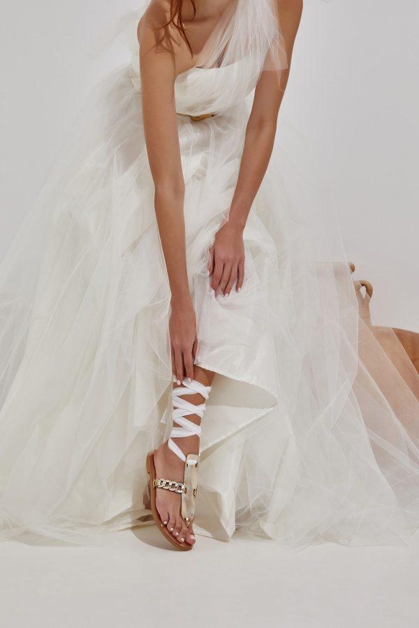 Σανδάλια για νύφη