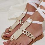 Gold Bridal Sandals