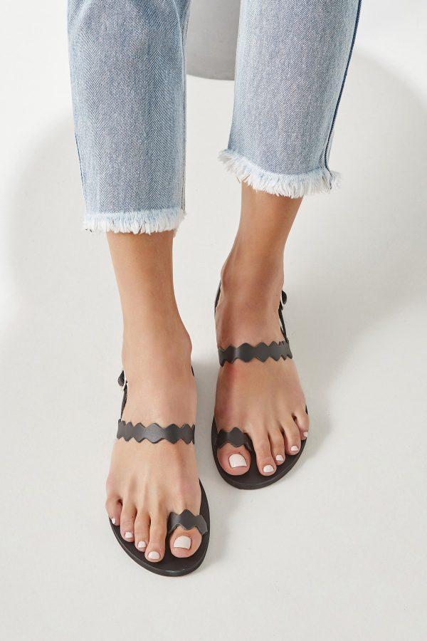 Women Black Shoe Flat