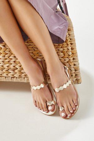 Gold Women's Sandals