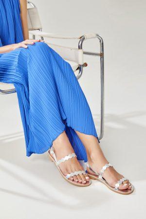 Silver Sandal Woman