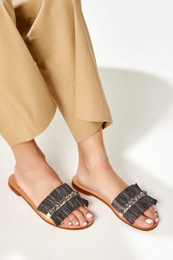Flat Summer Shoe Greek