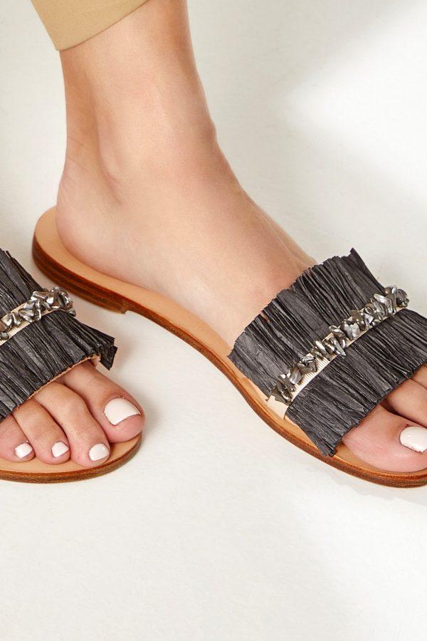 Slide Sandals Women Flat