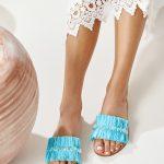 turquoise sandals