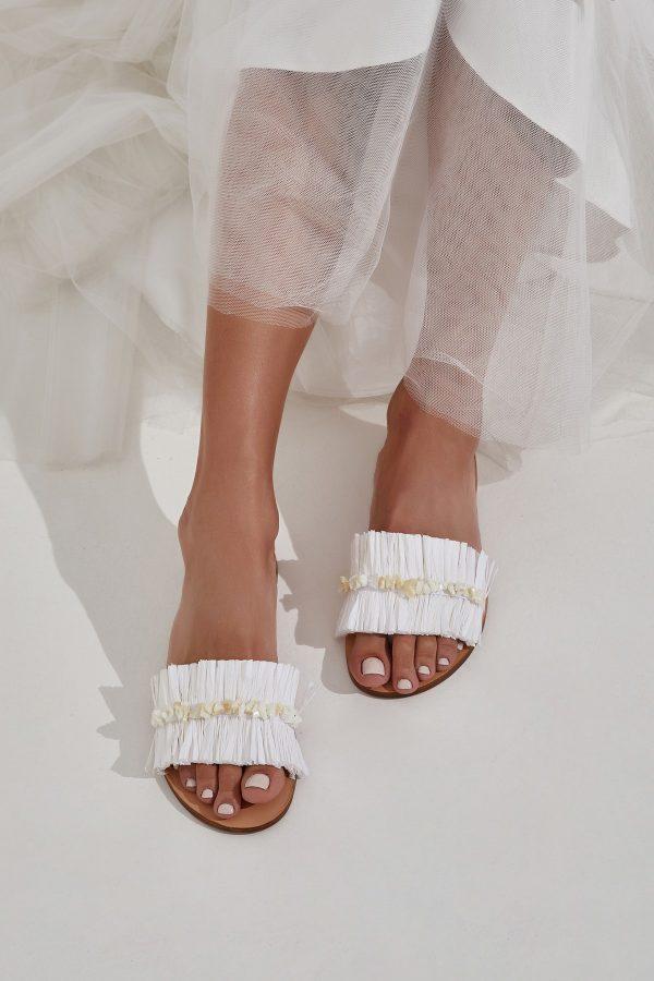 Wedding Slide Sandals