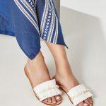 Greek Leather Sandal White