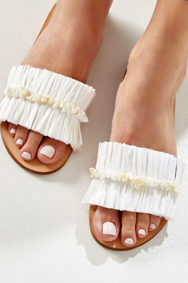 Greek Leather Sandal Flat