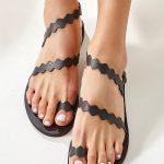 Ancient Greek Sandals Black