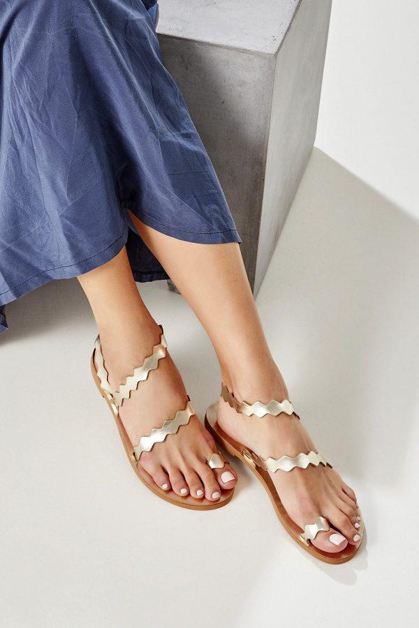 Kyma Sandals Gold