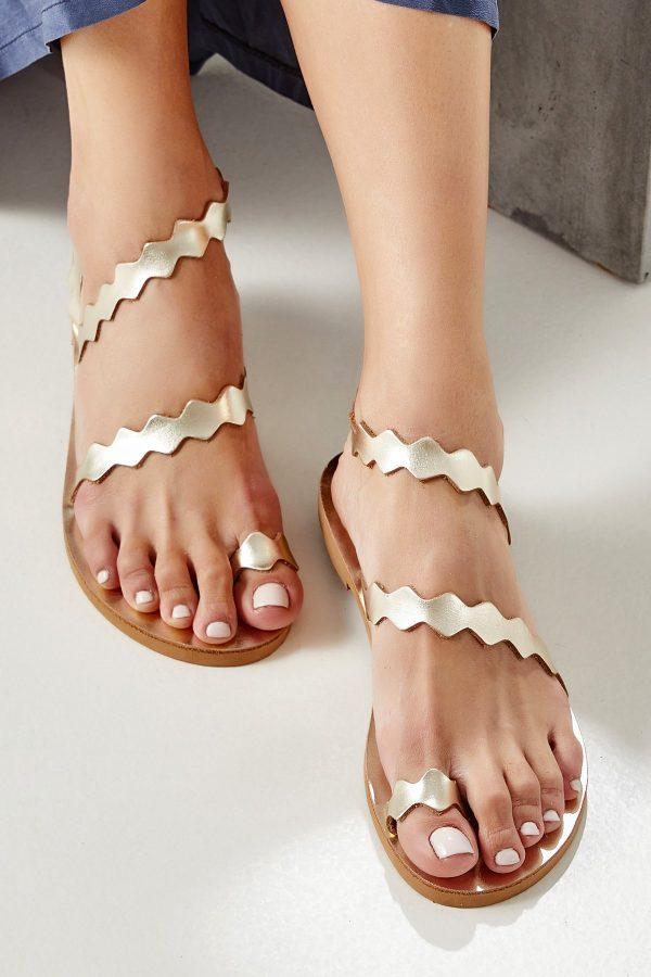 Gold Toe Ring Sandal