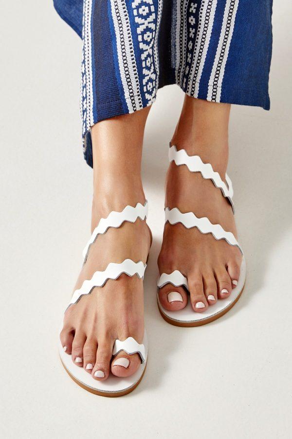 Summer Sandals Woman White