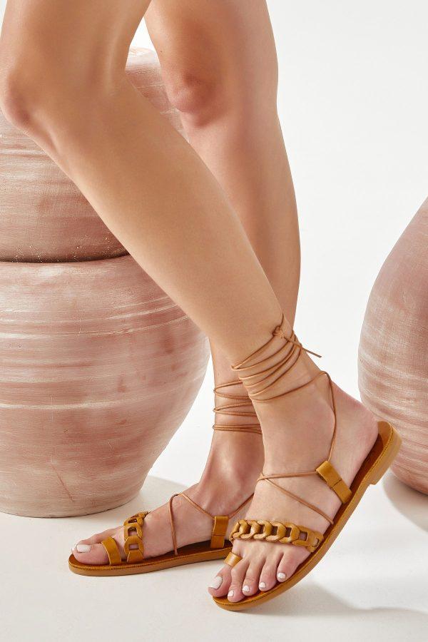 Women's Gladiator Sandals Brown