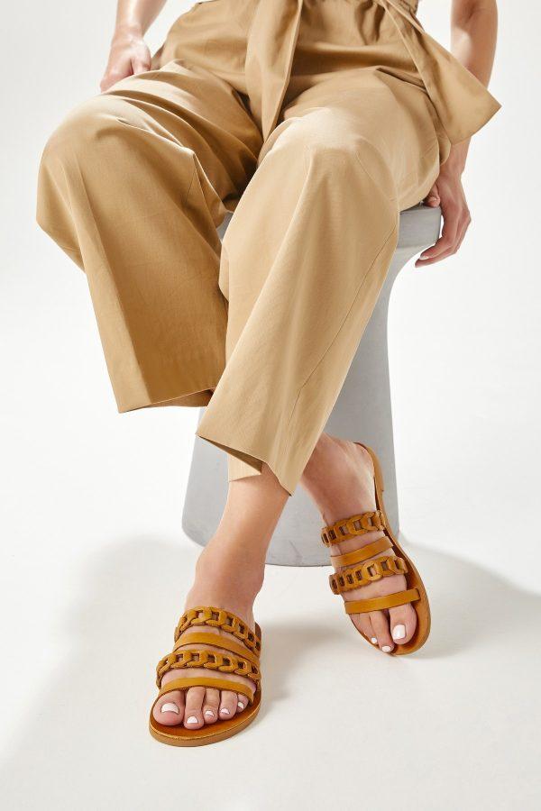 Women Sandals Brown