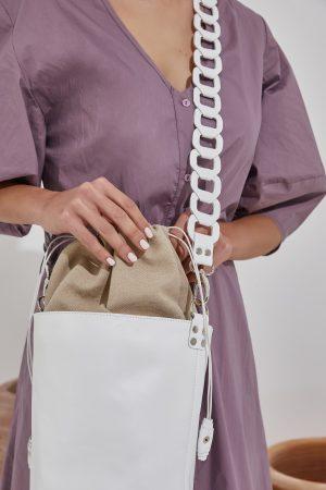 Crossbody White Bag Women