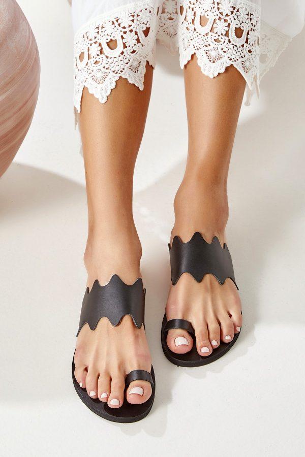 Toe Ring Flat Sandals