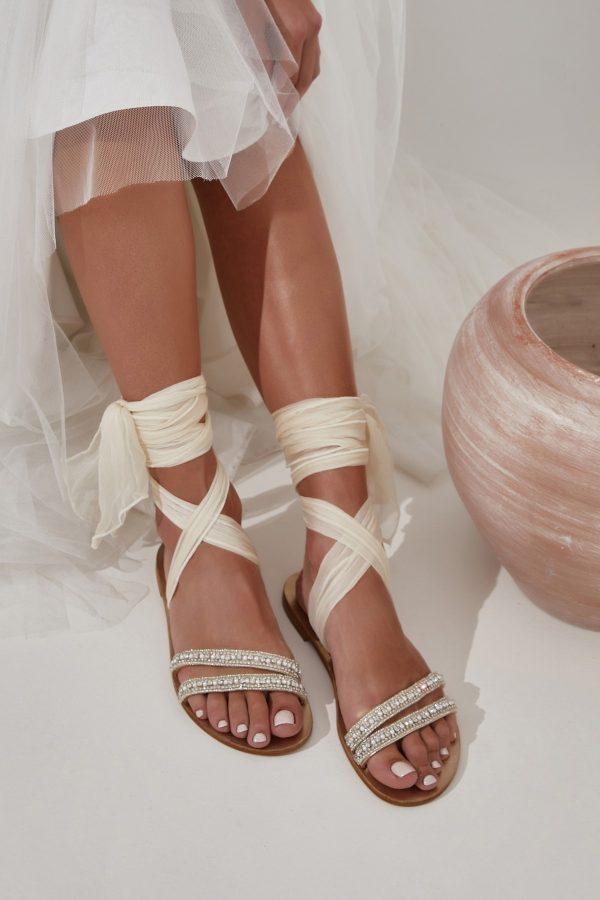Wedding Shoes with Rhinestones