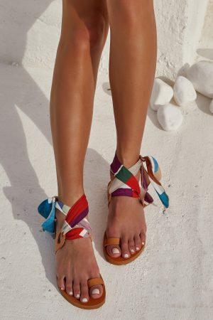 """Le Fut"" Sandals in Tan - GCH x TheKnls"